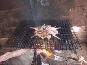 flambe au feu 300x224 Carte de visite de Ouaga